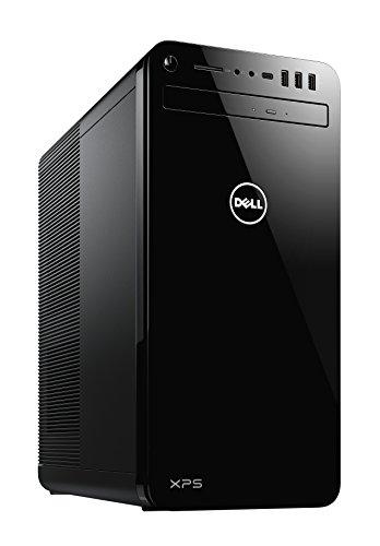 Dell SBR17 XPS 8930 Desktop Computer with Intel Core i7-8700 3.2 GHz, 16GB DDR4 SDRAM, 2TB HDD + 256GB SSD, Tower, Black, Black