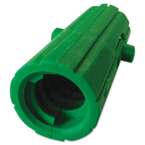 Unger AquaDozer Squeegee Acme Threaded Insert, Nylon, Green - Includes one each. - Squeegee Adapter