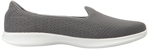 Skechers Performance Donna Andare Passo Lite Slip-on Walking Shoe Carboncino