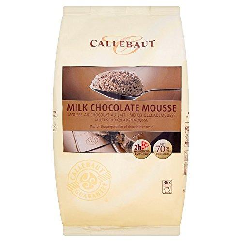 Callebaut Chocolate con leche Mousse Mix 800g (paquete de 800 g)