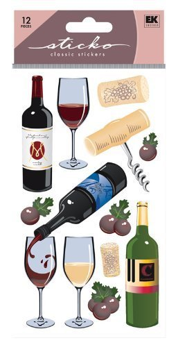 Sticko Classic Wine Sticker ()