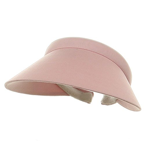 Ladies Clip On Visor-Pink