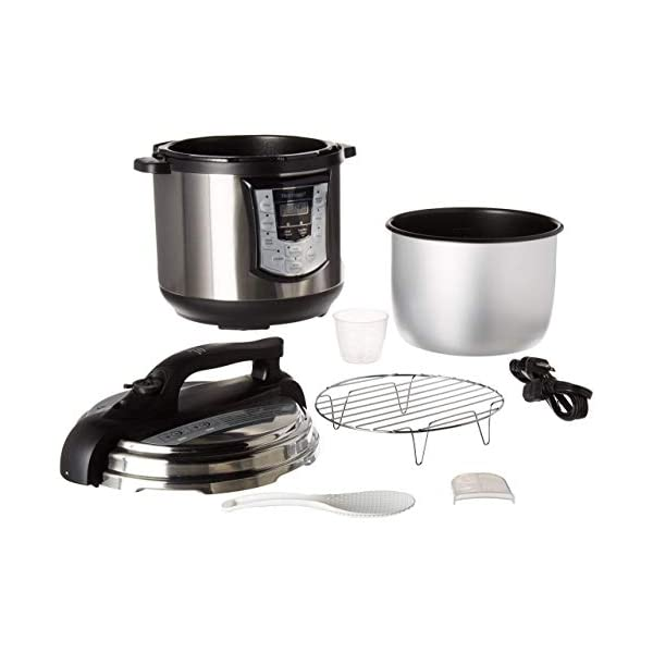 Homeart Multipot Pressure Cooker, Programmable Settings with Multifunctions, Over 6 Liter Capacity 2