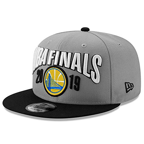 New Era NBA Finals Golden State Warriors 9FIFTY 2019 Western Conference Champions Locker Room Snapback Hat, Adjustable Cap (Golden State Warriors New Era)