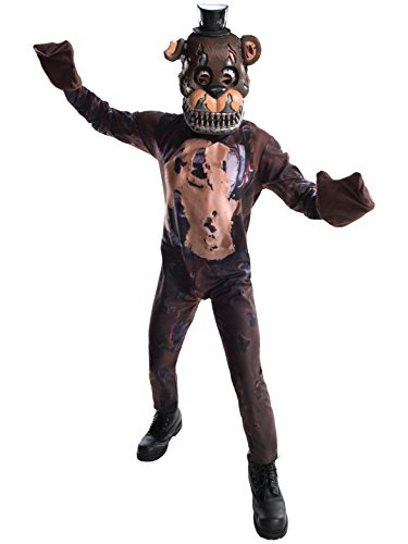 Rubie's Costume Boys Five Nights at Freddy's Nightmare Fazbear Costume, Large, Multicolor]()