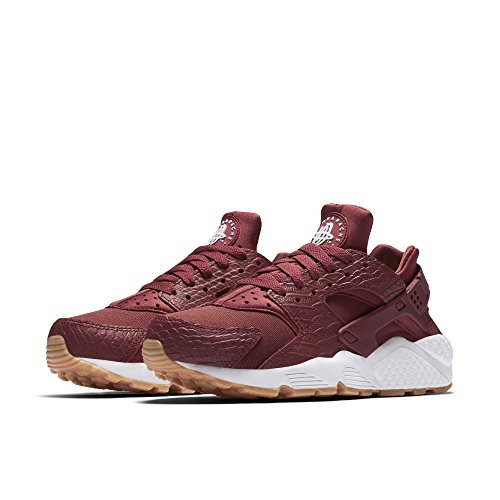 Scarpe Nike Air Huarache Run SE Cedar / Cedar-Gum Yellow-White (Womens) (7 B (M) US)