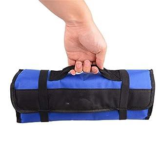JIALIUJ 4 Color Optional Foldable Tool Bag Roll Pouch ...