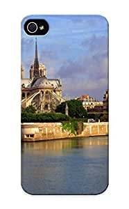 meilinF000Graceyou Protection Case For iphone 5/5s / Case Cover For Christmas Day Gift(france Rivers Notre Dame De Paris Cities )meilinF000