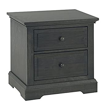 Amazon.com: Centennial Chatham 2 cajones nightstand ...