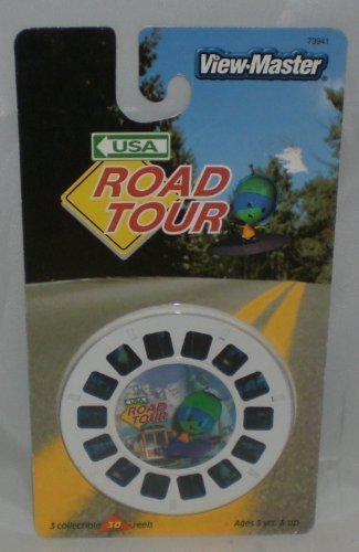 USA Road Tour View-Master 3 Reel Set - 21 3d Images by View Master (Image #1)