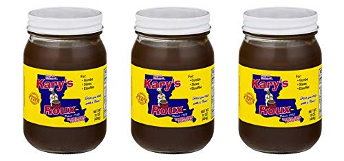 Kary's Roux 16 ounce Glass Jar 3 Pack (Best Roux In A Jar)
