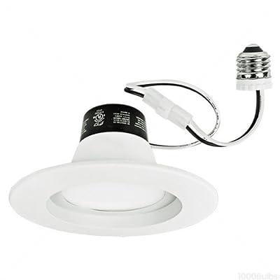 750 Lumens - 65 Watt Incandescent Equal - 12W LED - Medium Base - Retrofit Downlight - Fits 5 & 6 in. Can Light - Halogen Color - TCP LED12DR5630K
