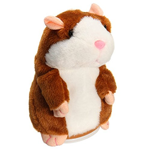 Takefuns Mimicry Pet Talking Hamster Repeats What You