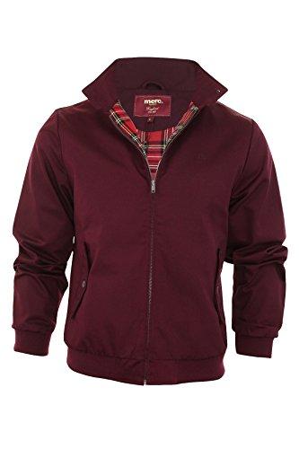 Uomo London Da Harrington Giacca Rosso wine jacket Of Merc qx5pHYxT
