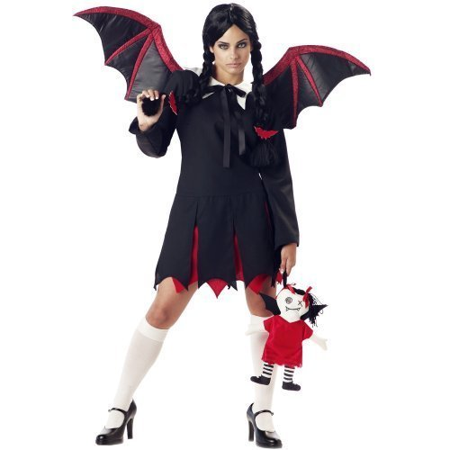 Women Medium 8-10 - Very Bat Girl (Does not include stockings, wig or shoes)