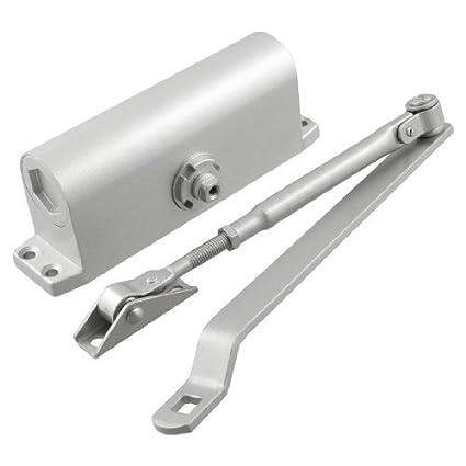 Edealmax Automatique En Aluminium Monté En Surface Ferme Porte Pour