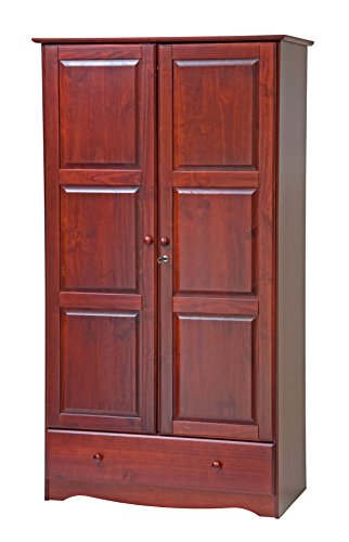 Pine Solid Pine Armoire - 4