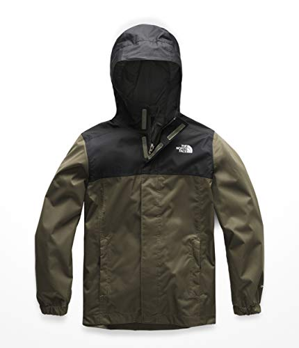 - The North Face Kids Boy's Resolve Reflective Jacket (Little Kids/Big Kids) New Taupe Green Medium