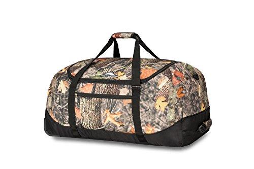 High Sierra Kings Camo Wheel N Go Duffel Bag, 30