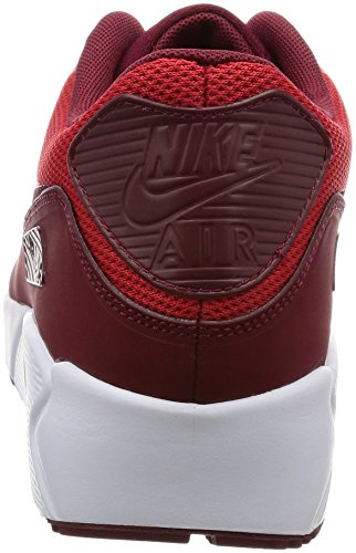 Nike Air Max 90 Ultra 2.0 Essential, Zapatillas para Hombre Rojo (University Red / Team Red / White)
