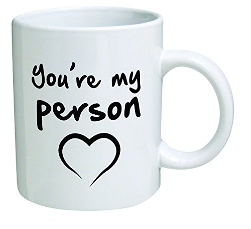Funny You're my person 11OZ Coffee Mug Novelty, are, Office, Job, Heart