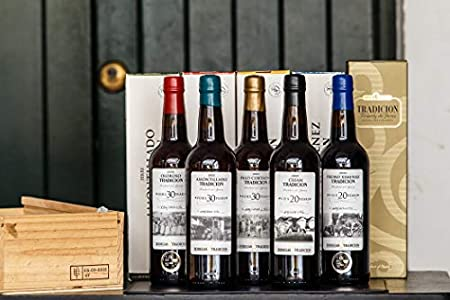 Amontillado Tradicion VORS Vino D.O. Jerez 75 cl, vino generoso, fortificado seco, largo envejecimiento, máxima calidad VORS. 100% natural