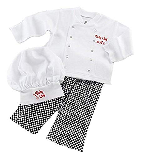 Baby Toddler Fancy Dress Chef Cook Outfit Halloween Costume Birthday Party Sets 18-24Monthes -