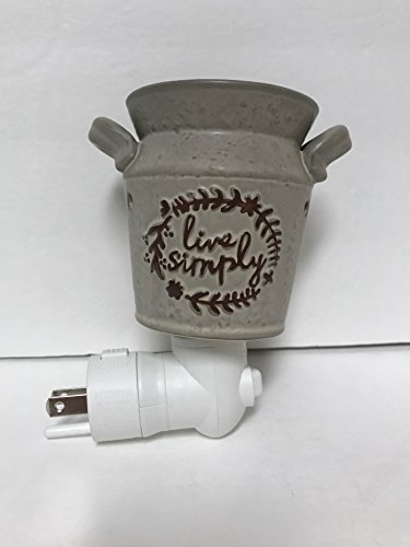 SCENTSY Live Simply Luz Nocturna plug-in calentador para fundir cera aromática (