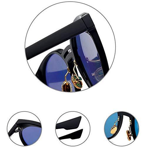 Femmes Style Rétro Plage Plein Voyager Conduite Colorée Plein Cadre Été C3 Lentille Soleil de en UV Air Protection Lunettes Hommes pour 18q8rd
