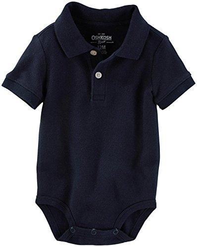 (OshKosh B'Gosh Baby Boys' Knit Bodysuit 11872812, Blue, 9 Months)