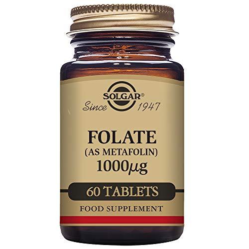 Folate 1000 MCG (Metafolin 1,000 MCG) Solgar 60 Tabs