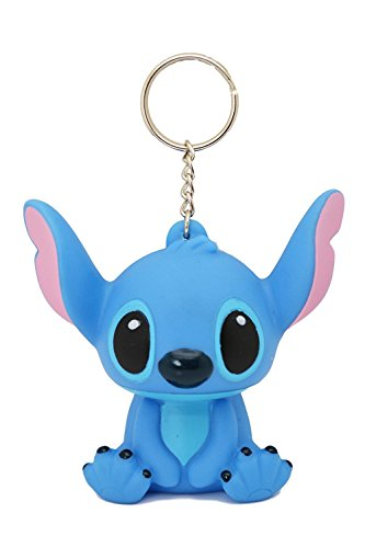 (Disney Stitch 3D PVC Figure Keychain. 3