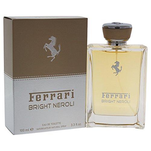 Ferrari Eau de Toilette Spray for Men, Bright Neroli, 3.3 Ounce