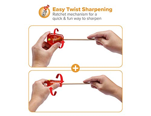 Bostitch Office Twist-N-Sharp Manual Pencil Sharpener
