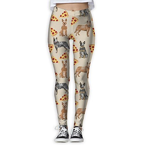 CLXS Australian Cattle Dog Pizza Slice Yoga Pants Relaxed Fit Campaign - Store Australian Toronto