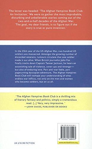 The Afghan Vampires Book Club Gary Barker 9789462380493 Amazon