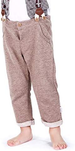 Amorar Beb/és Pantalones de Peto Largos Pantalones Vaqueros Overalls Roto Jeans para Ni/ños Ni/ñas
