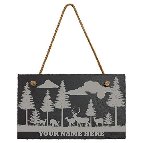 (Sterling Gaming Custom Personalized Welcome to. Nature & Wildlife Slate Sign Plaque | 11.75