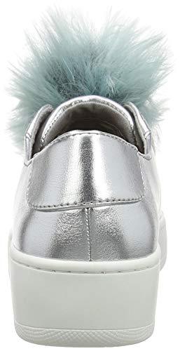 Donna Argento Silver Steve Madden Sneaker Breeze 001 qz7WRft
