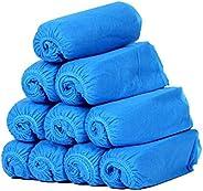25Pairs(50PCS) Blue Breathable Disposable Non-Woven Fabrics Shoe Bags Wraps Universal Dustproof Shoe Wraps Por