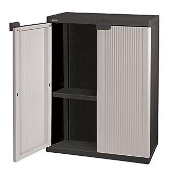 Keter resin plastics ltd wardrobe 1 shelf for Armoire peu profonde