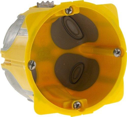 Legrand LEG80031 Energy Bo/îte monoposte Jaune 50 mm