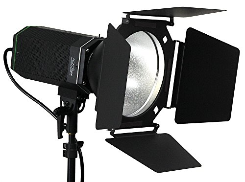 ALZO 3200 High Power LED Video Light with 8 in Barndoor & Light Stand by ALZO Digital