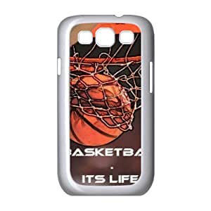basketball is life Personalized Cover Case with Hard Shell Protection for Samsung Galaxy S3 I9300 Case lxa#286804