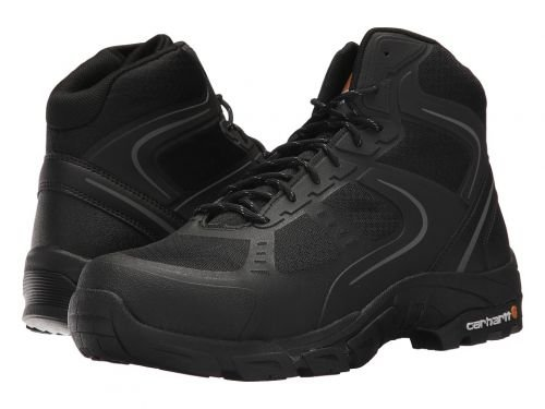 Carhartt(カーハート) メンズ 男性用 シューズ 靴 ブーツ 安全靴 ワーカーブーツ Lightweight Work Hiker Steel Toe Black Nylon Mesh [並行輸入品] B07BMPVPNC 13 EE Wide