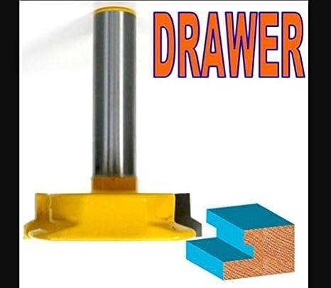 1 Pc 1 2 Sh Drawer Lock Joint Router Bit Amazon Com