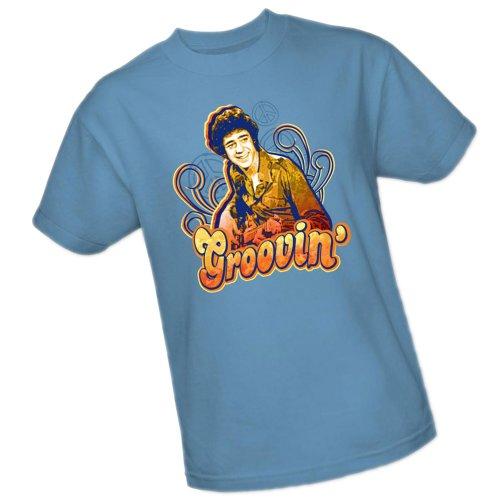 Groovin' Greg - Johnny Bravo - Brady Bunch 100% Cotton T-Shirt