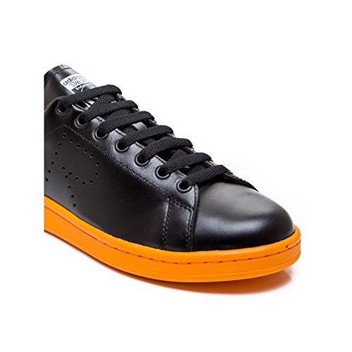 Adidas Heren Raf Simons Stan Smith Zwart / Wit / Fel Oranje Bb2647