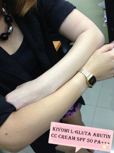 Best New!! Whitening Cream Kiyomi L-Glutathione Abutin Body