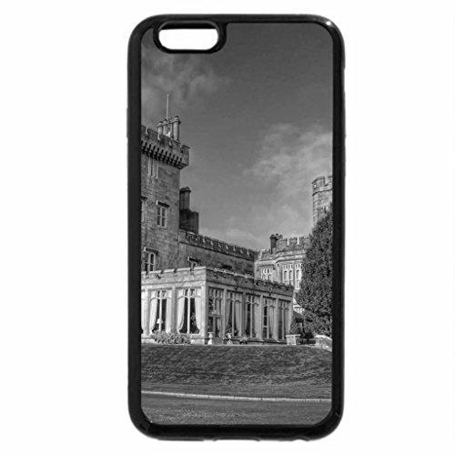 iPhone 6S Plus Case, iPhone 6 Plus Case (Black & White) - beautiful castle hdr